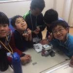 冬休みサイエンス教室 ロボット教室